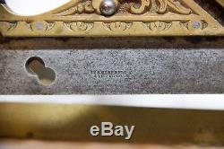 Vintage Stanley 42 Gunmetal Plane Millers Patent Plow Woodworking