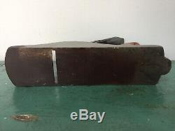 Vintage Stanley Bailey No 4 Type 3 Plane Antique Woodworking Planer Tool 1872