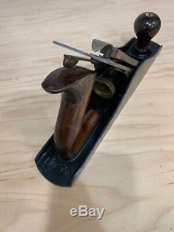 Vintage Stanley Bailey No. 5-1/4 Woodworking Jack Plane. USA. Pat. 1918 Lever Cap