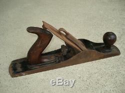 Vintage Stanley Bailey No. 5 Woodworking Carpenter's Hand Plane Smooth Bottom 14