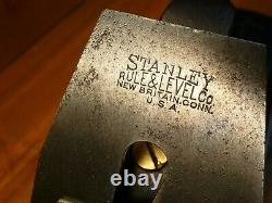 Vintage Stanley Bailey No. 6 Plane Woodworking Carpenters Tool