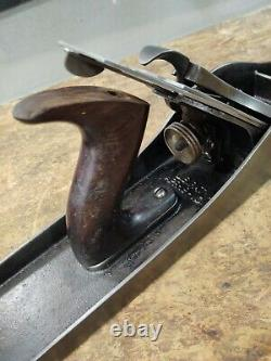 Vintage Stanley Bailey No 8 Woodworking Plane Corrugated Bottom Sweetheart