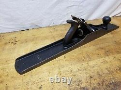 Vintage Stanley Bedrock No 608 C Corrugated Jointer Plane Woodworking Tool