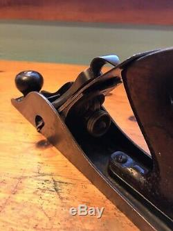 Vintage Stanley No. 10 Carriage Makers Rabbet Plane- Woodworking Master- Nice