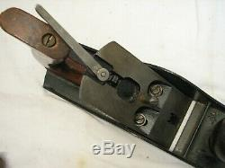 Vintage Stanley No. 4-1/2 Wide Jack Plane 1892 Iron Woodworking Tool