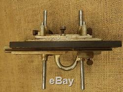Vintage Stanley No. 45 Combination Plow Plane Wood Tool Woodworking