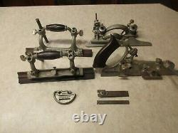 Vintage Stanley No 55 Plow Combination Wood Plane, Antique Tools, Wood Working
