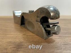 Vintage Stanley No. 93 Cabinet Makers Rabbet Plane Woodwork Tool Restored