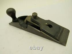 Vintage Stanley No. 97 Smooth Bottom Woodworking Edge Plane Type 2 Cabinetry USA
