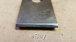 Vintage Stanley Sweetheart No. 2 Woodworking Plane Corrugated Bottom