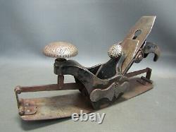Vintage Stanley no 113 compass plane type 1 old woodworking tool
