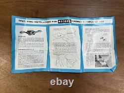 Vintage Unused Record No. 80 Cabinet Scraper Plane Woodwork Tool Boxed