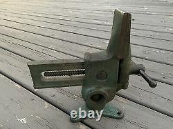 Vintage Versa-Vise Tall Jaw Swivel Rotating Base Gunsmith Machinist Wood Working