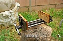 Vintage WILTON 10'' Jaw Quick Release Woodworking Vise Cast Iron Vice 31 Lbs