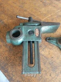 Vintage Will-Burt Versa-Vise Tall Jaw Swivel Rotating Base Gunsmith Wood Working