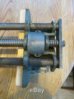 Vintage Wilton 10 Woodworking Vise W-9-64 Schiller Illinois Heavy Cast Iron