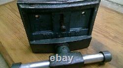 Vintage Wilton 7 Jaw Under Bench Wood Vise Woodworkers Vise