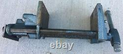 Vintage Wilton 7 Under Bench Mount Woodworking Vise Heavy-Duty USA