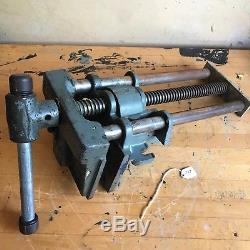 Vintage Wilton Woodworkers Vise Under Bench Mount W-9-63