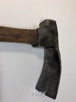Vintage Wm. Beatty & Son Chester Pa Cooper's Adze Wood Working Tool Cow Logo