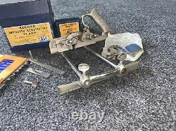 Vintage Wood Working Tools Boxed Record No. 050 Combination Plane
