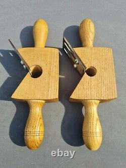 Vintage Wooden Rounding Planes Chair Furniture Maker Carpenter Woodworking