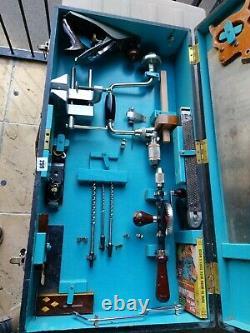 Vintage Woodworking Tools Stanley Marples Ect In Wooden Case