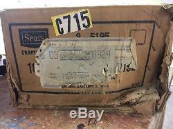 Vintage never used Craftsman 10 Woodworking Vise