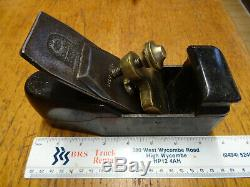 Vintage rose wood infill woodworking plane with W. Marples & sons Sheffield Blade