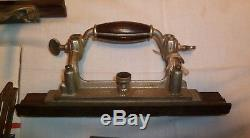 Vtg Antique Stanley Sweetheart Plane No. 55 Woodworking Tool