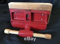 Vtg Craftsman Woodworkers Vise 391-5195 10 Wide Jaw Power-Slide Japan NICE
