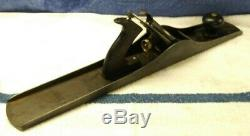 Vtg. Stanley Bailey No. 7 Corrugated Bottom Jointer Plane USA woodworking tool