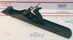 Vtg Stanley Bailey No. 7 Smooth Bottom Jointer Plane USA Type 8 woodworking tool