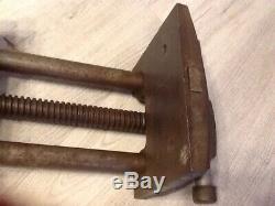 WILTON W-9-63 Quick Release Under Bench Woodworking Vise 7