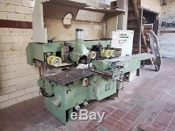 Weinig Profimat 22N 5-Head Feed Through Wood Moulder / Planer with tooling