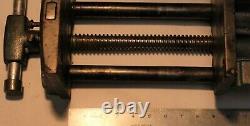 Wilton 7 Woodworking Vise Under Bench Mount Quick Release Vintage