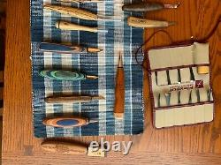 Wood carving knifes and palm tools helvie lyons pinwoodforge Bud Murray occt