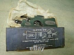 Wood plane, Clifton 3110 in box. Used woodworking tools