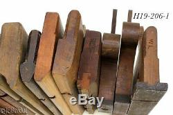 Wood wooden MOLDING PLANES CARRIAGE H&R others woodworking tools