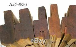 Wood wooden PLANE TOOL MOLDING woodworking carpenter tools beads side ALBANY