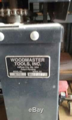 Woodmaster Tools Planer Model W 718 Commercial Machine W Shop Vac System