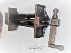 Woodworkers Heavy Duty Bench Vise (1 Diam. Screw), Opens to 10, 7-1/8 Wide