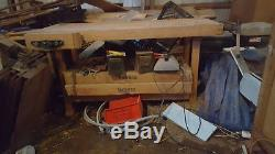 Woodworking bench Maple 2 vise
